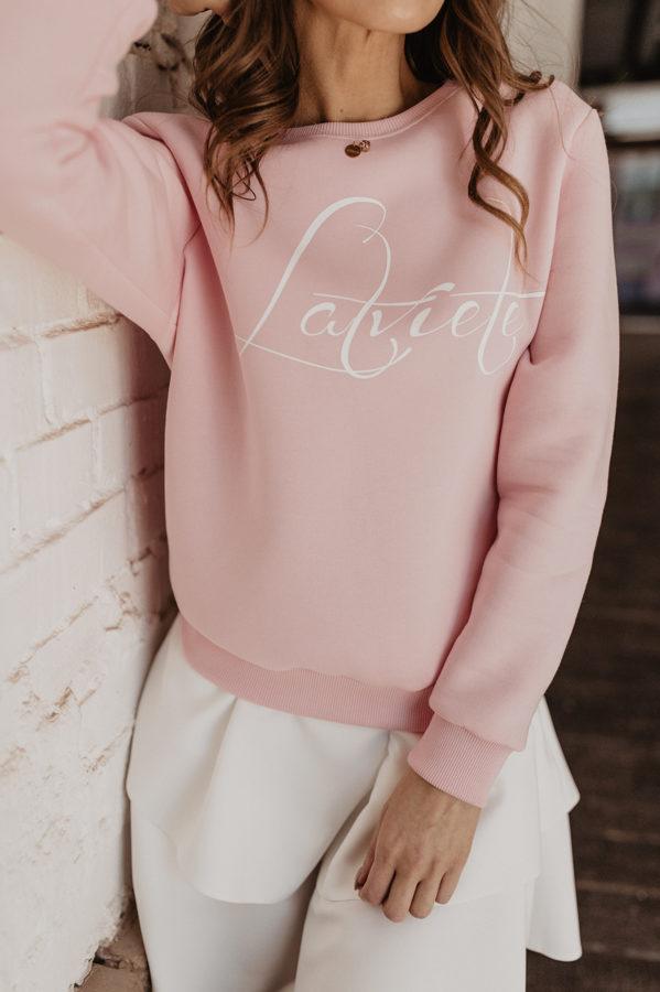"""zefīra rozā džemperis """"Latviete"""""""